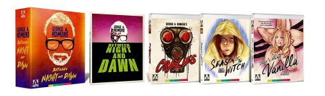 'George A. Romero - Between Night And Dawn'; Arrives On Limited Edition 6-Disc Blu-ray + DVD Box Set October 24, 2017 From Arrow Video 2