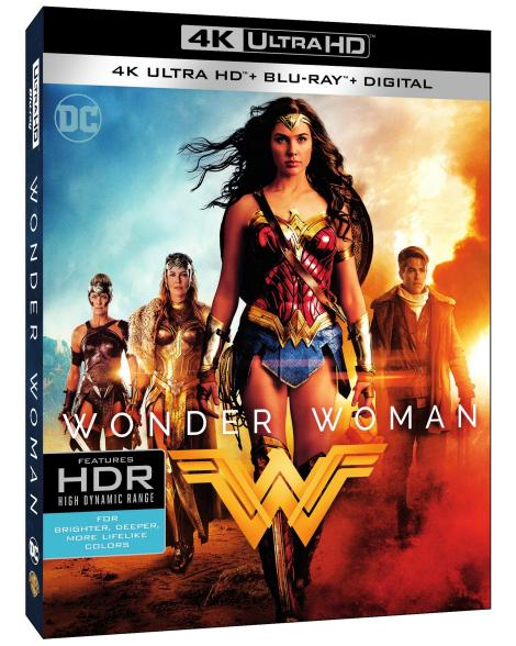 'Wonder Woman'; Arrives On Digital August 29 & On 4K Ultra HD, 3D Blu-ray, Blu-ray & DVD September 19, 2017 From DC & Warner Bros 4