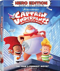 [Blu-Ray Review] 'Captain Underpants: The First Epic Movie': Now Available On 4K Ultra HD, Blu-ray, DVD & Digital From DreamWorks & Fox Home Ent 1