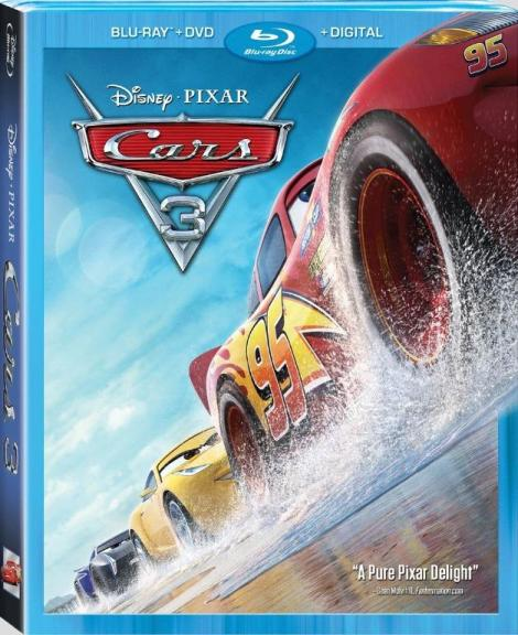 'Cars 3'; Arrives Home On Digital October 24 & On 4K Ultra HD, Blu-ray & DVD November 7, 2017 From Disney • Pixar 4