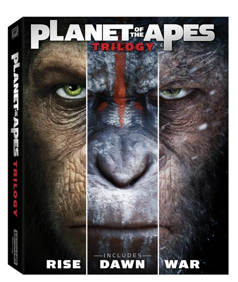 'War For The Planet Of The Apes'; Arrives On Digital October 10 & On 4K Ultra HD, 3D Blu-ray, Blu-ray & DVD October 24, 2017 From Fox Home Ent. 3