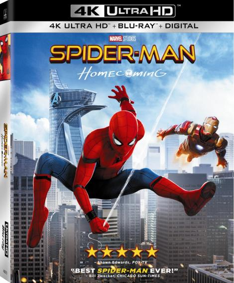 'Spider-Man: Homecoming'; Arrives On Digital September 26 & On 4K Ultra HD, Blu-ray 3D, Blu-ray & DVD October 17, 2017 From Sony Pictures 5