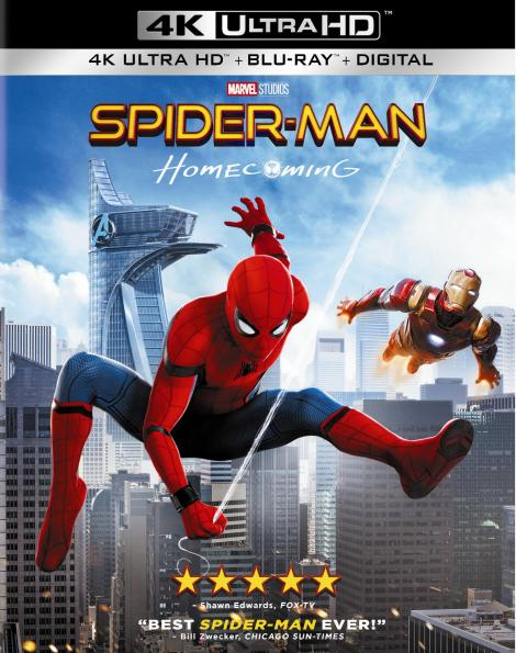 'Spider-Man: Homecoming'; Arrives On Digital September 26 & On 4K Ultra HD, Blu-ray 3D, Blu-ray & DVD October 17, 2017 From Sony Pictures 4
