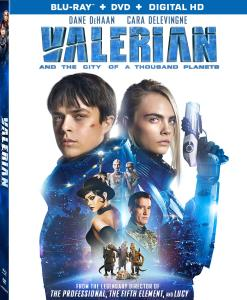 'Valerian And The City Of A Thousand Planets'; Arrives On Digital November 7 & On 4K Ultra HD, Blu-ray & DVD November 21, 2017 From Lionsgate 1