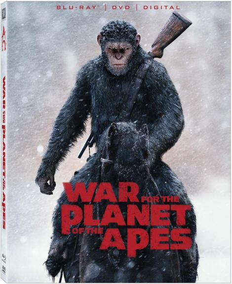 'War For The Planet Of The Apes'; Arrives On Digital October 10 & On 4K Ultra HD, 3D Blu-ray, Blu-ray & DVD October 24, 2017 From Fox Home Ent. 2
