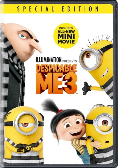 'Despicable Me 3'; Arrives On Digital November 21 & On 4K Ultra HD, Blu-ray, 3D Blu-ray & DVD December 5, 2017 From Illumination & Universal 8