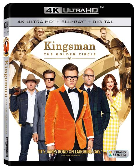 'Kingsman: The Golden Circle'; Arrives On 4K Ultra HD, Blu-ray & DVD December 12, 2017 From Fox Home Ent. 4