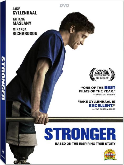 'Stronger'; Arrives On Digital December 5 & On Blu-ray & DVD December 19, 2017 From Lionsgate 5