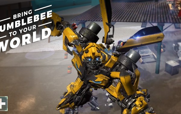 Paramount Launches Its First Augmented Reality Experience Featuring Content from Transformers: The Last Knight 1