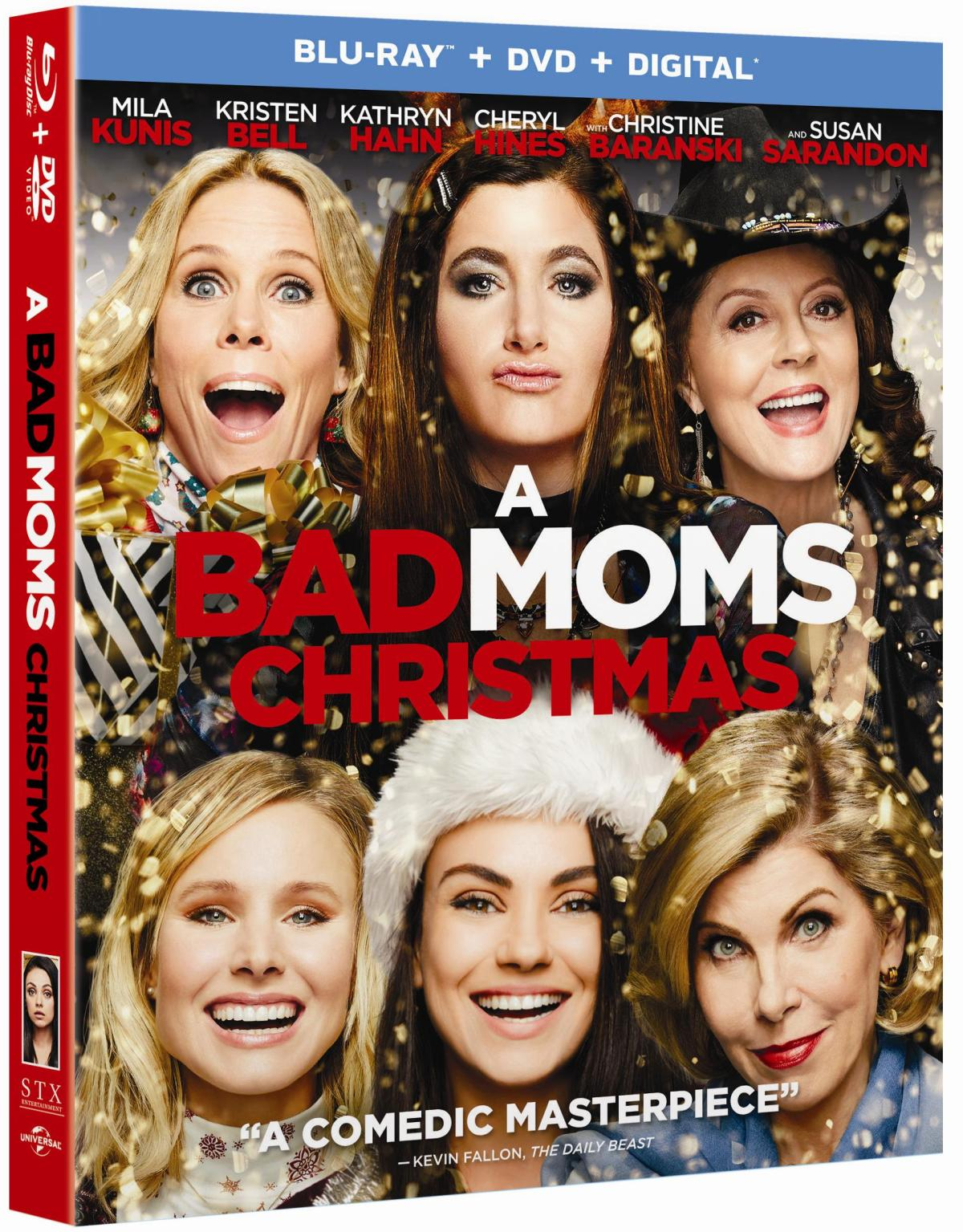 [GIVEAWAY] Win 'A Bad Moms Christmas' On Blu-ray: Arrives On Blu-ray & DVD February 6, 2018 From Universal 18