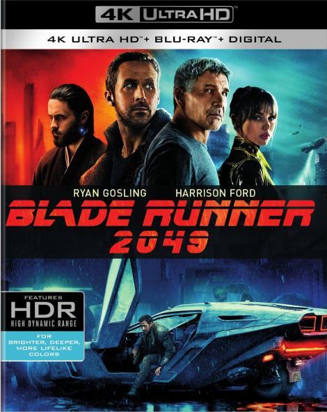 'Blade Runner 2049'; Arrives On Digital December 26, 2017 & On 4K Ultra HD, 3D Blu-ray, Blu-ray & DVD January 16, 2018 From Warner Bros 3