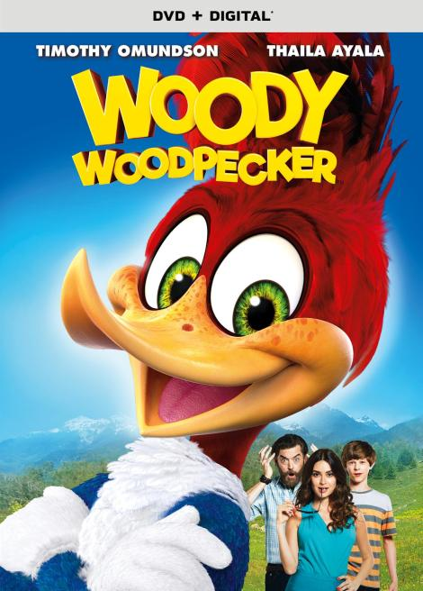 Trailer, Artwork & Release Details For New 'Woody Woodpecker' Movie!; Arrives On DVD & Digital February 6, 2018 From Universal 4