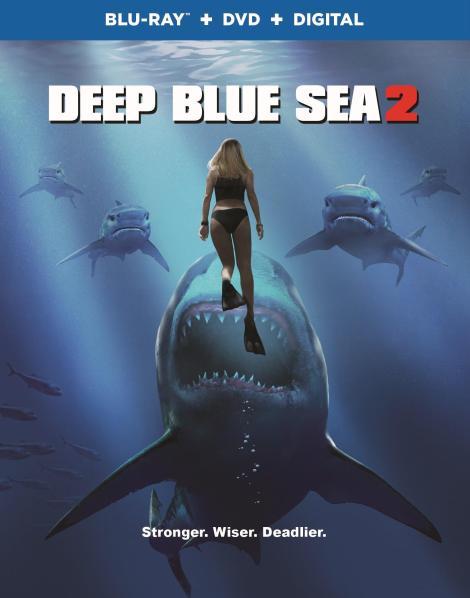 Trailer, Artwork & Release Details For 'Deep Blue Sea 2'; Arrives On Blu-ray, DVD & Digital April 17, 2018 From Warner Bros 9
