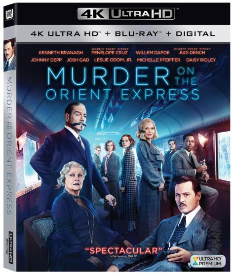 'Murder On The Orient Express'; Arrives On Digital February 20 & On 4K Ultra HD, Blu-ray & DVD February 27, 2018 From Fox Home Ent. 3