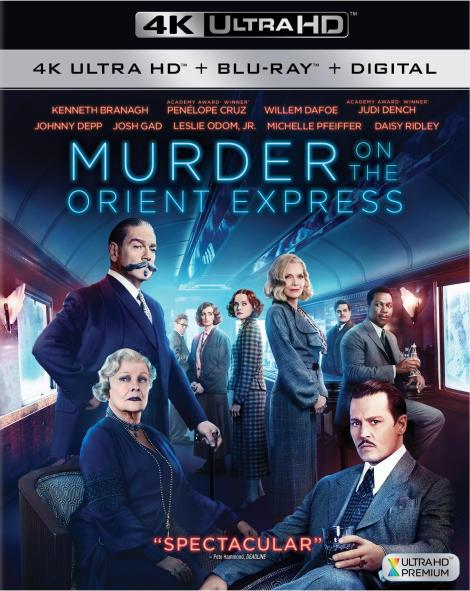 'Murder On The Orient Express'; Arrives On Digital February 20 & On 4K Ultra HD, Blu-ray & DVD February 27, 2018 From Fox Home Ent. 4
