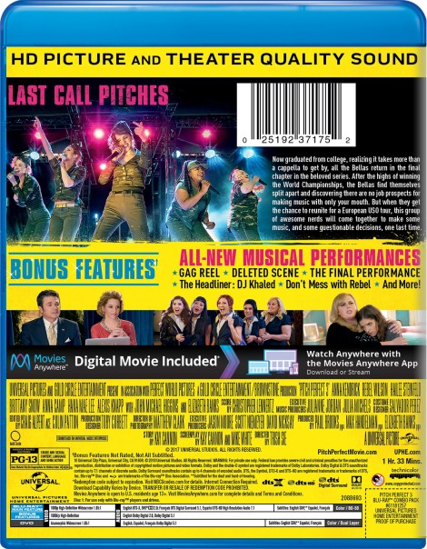 'Pitch Perfect 3'; Arrives On Digital March 1 & On 4K Ultra HD, Blu-ray & DVD March 20, 2018 From Universal 9