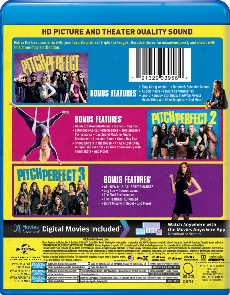 'Pitch Perfect 3'; Arrives On Digital March 1 & On 4K Ultra HD, Blu-ray & DVD March 20, 2018 From Universal 14