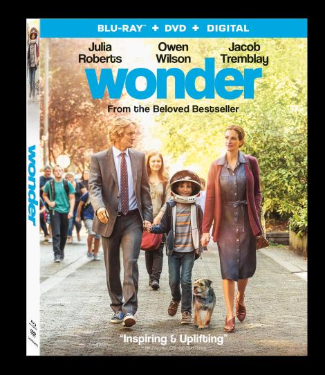 'Wonder'; Arrives On Digital January 30 & On 4K Ultra HD, Blu-ray & DVD February 13, 2018 From Lionsgate 6