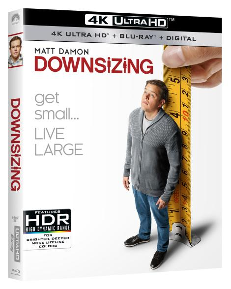 'Downsizing'; Arrives On 4K Ultra HD, Blu-ray, DVD & Digital March 20, 2018 From Paramount 3