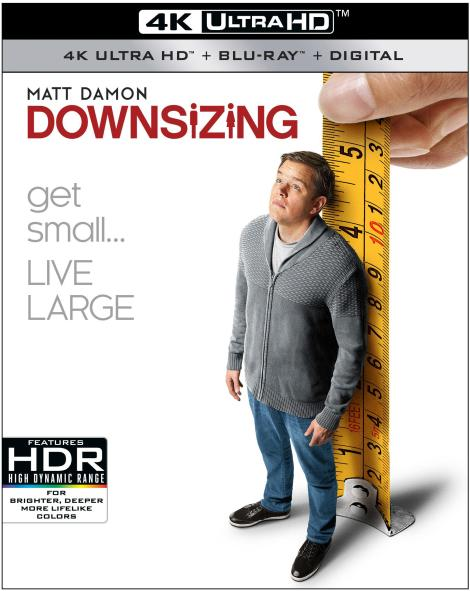 'Downsizing'; Arrives On 4K Ultra HD, Blu-ray, DVD & Digital March 20, 2018 From Paramount 4
