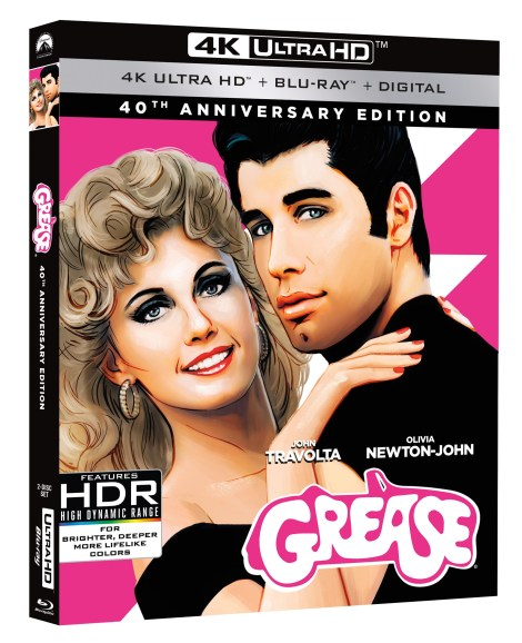 'Grease: 40th Anniversary Edition'; Arrives With Fully Restored Picture & Sound On 4K Ultra HD, Blu-ray, DVD & Digital April 24, 2018 From Paramount 2