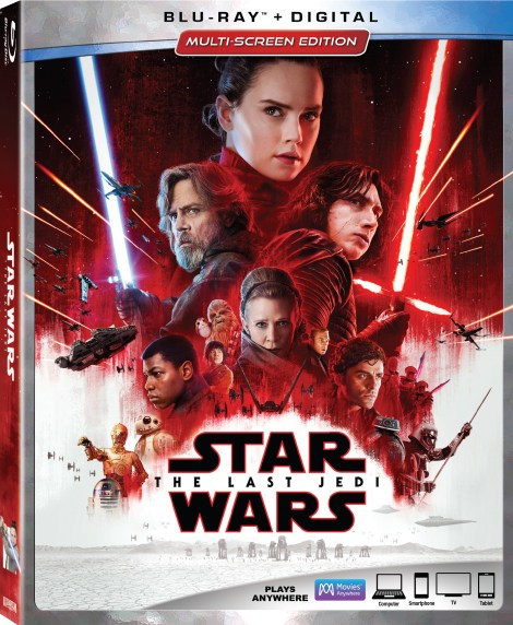 'Star Wars: The Last Jedi'; Arrives On Digital March 13 & On 4K Ultra HD, Blu-ray & DVD March 27, 2018 From Lucasfilm 3