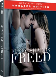 'Fifty Shades Freed' Unrated; Arrives On Digital April 24 & On 4K Ultra HD, Blu-ray & DVD May 8, 2018 From Universral 1