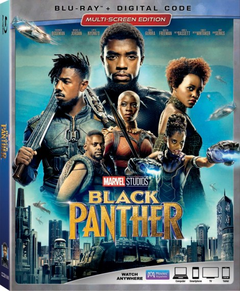 Marvel's 'Black Panther'; Arrives On Digital May 8 & On 4K Ultra HD, Blu-ray & DVD May 15, 2018 From Marvel Studios 3