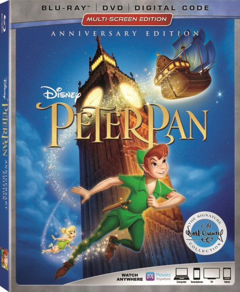 Disney's 'Peter Pan: Anniversary Edition'; Arrives On Digital May 29 & On Signature Collection Blu-ray June 5, 2018 From Disney 3