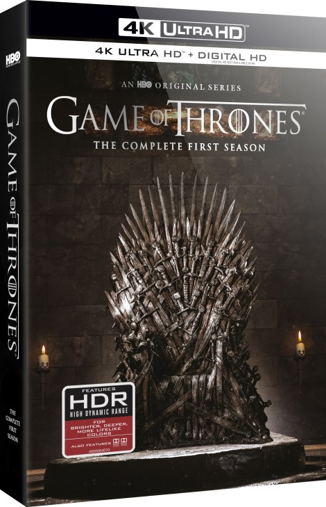 'Game Of Thrones: The Complete First Season' Makes 4K Disc Debut!; Arrives On 4K Ultra HD June 5, 2018 From HBO 6