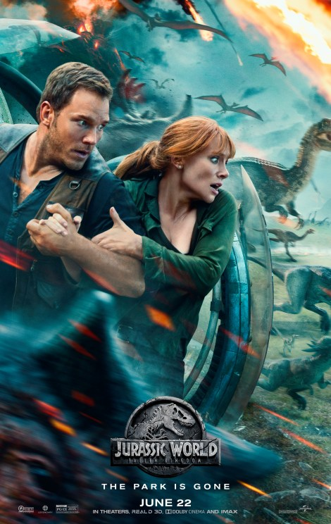 The Final Trailer & New Poster For 'Jurassic World: Fallen Kingdom' Attack 2