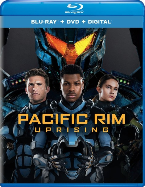 'Pacific Rim: Uprising'; Arrives On Digital June 5 & On 4K Ultra HD, 3D Blu-ray, Blu-ray & DVD June 19, 2018 From Universal 5