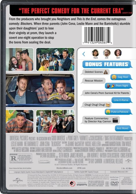 'Blockers'; Arrives On Digital June 19 & On Blu-ray & DVD July 3, 2018 From Universal 7