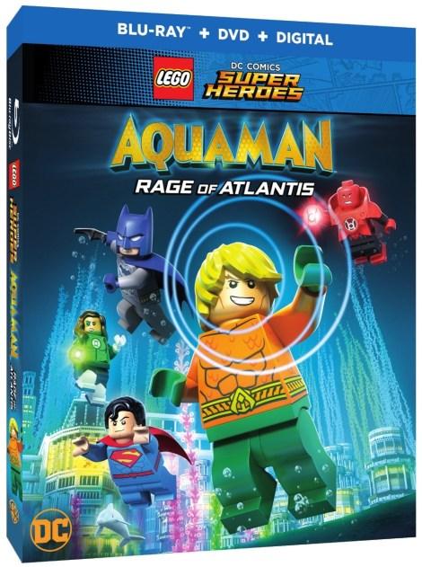 Trailer, Artwork & Release Details For 'LEGO DC Comics Super Heroes: Aquaman - Rage Of Atlantis'; Arrives On Blu-ray, DVD & Digital July 31, 2018 From DC & Warner Bros 3