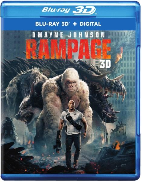 'Rampage'; Arrives On Digital June 26 & On 4K Ultra HD, 3D Blu-ray, Blu-ray & DVD July 17, 2018 From Warner Bros 16