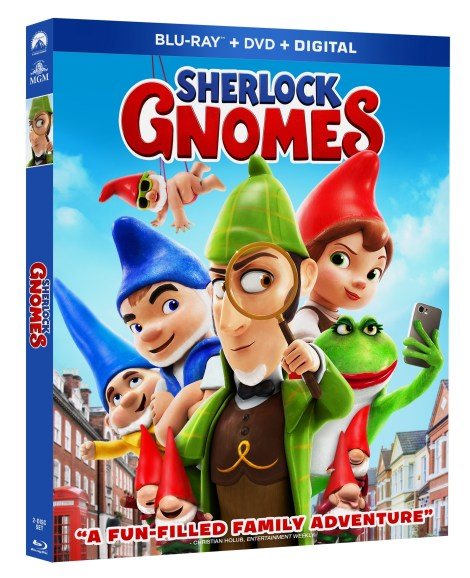 'Sherlock Gnomes'; Arrives On Digital June 5 & On Blu-ray & DVD June 12, 2018 From MGM & Paramount 3