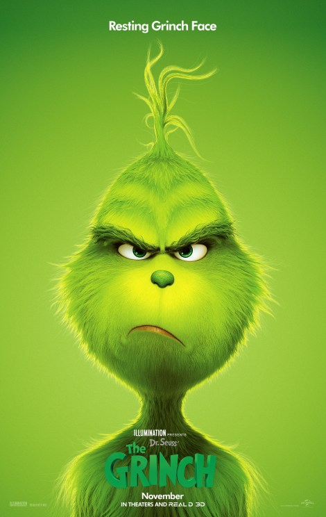 The New Trailer & Poster For Illumination's 'The Grinch' Movie Are Here To Steal Christmas 2