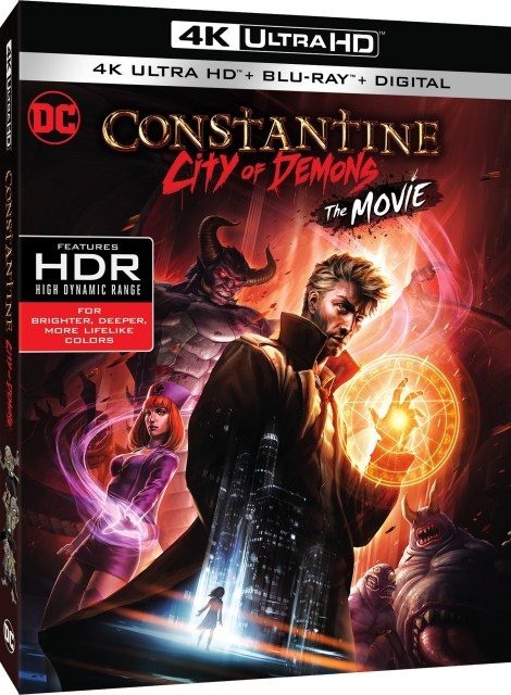 Trailer, Artwork & Release Details For 'Constantine: City Of Demons'; Arrives On 4K Ultra HD, Blu-ray & Digital October 9, 2018 From DC Entertainment & Warner Bros 11