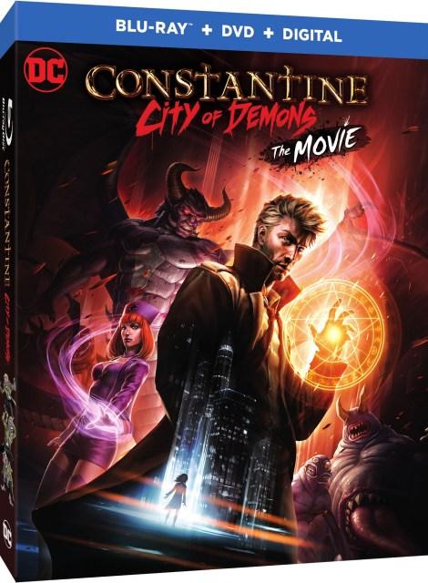 Trailer, Artwork & Release Details For 'Constantine: City Of Demons'; Arrives On 4K Ultra HD, Blu-ray & Digital October 9, 2018 From DC Entertainment & Warner Bros 13