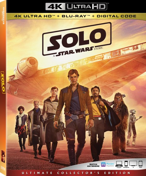 'Solo: A Star Wars Story'; Arrives On Digital September 14 & On 4K Ultra HD, Blu-ray & DVD September 25, 2018 From Lucasfilm 3