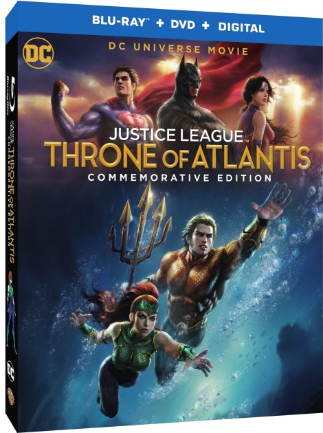 'Justice League: Throne Of Atlantis' Commemorative Edition; Arrives On 4K Ultra HD, Blu-ray & Digital November 13, 2018 From DC & Warner Bros 5