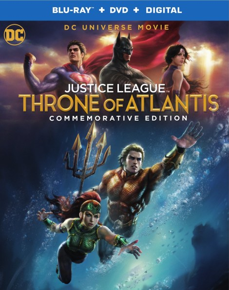 'Justice League: Throne Of Atlantis' Commemorative Edition; Arrives On 4K Ultra HD, Blu-ray & Digital November 13, 2018 From DC & Warner Bros 4