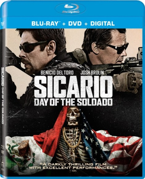 'Sicario: Day Of The Soldado'; Arrives On Digital September 18 & On 4K Ultra HD, Blu-ray & DVD October 2, 2018 From Sony Pictures 4