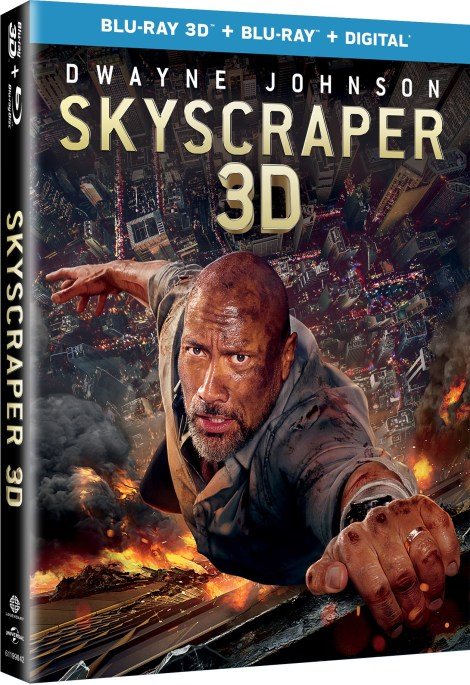 'Skyscraper'; Arrives On Digital September 25 & On 4K Ultra HD, 3D Blu-ray, Blu-ray & DVD October 9, 2018 From Universal 7