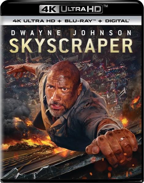 'Skyscraper'; Arrives On Digital September 25 & On 4K Ultra HD, 3D Blu-ray, Blu-ray & DVD October 9, 2018 From Universal 4
