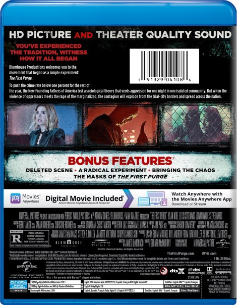 'The First Purge'; Arrives On Digital September 18 & On 4K Ultra HD, Blu-ray & DVD October 2, 2018 From Universal 24