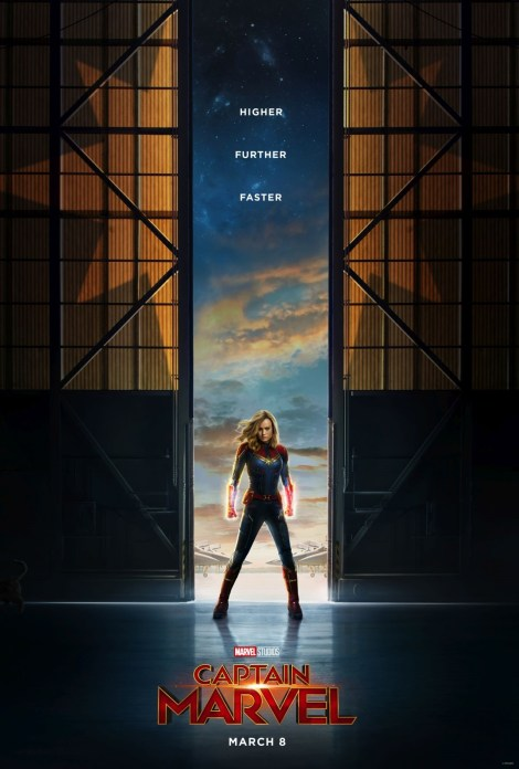 The First Trailer & Poster For Marvel Studios' 'Captain Marvel' Crash Lands In Our World 2