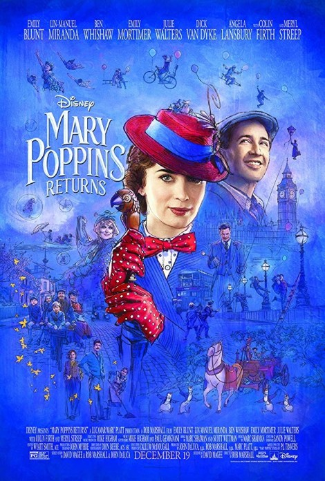 A New Trailer & Poster For Disney's 'Mary Poppins Returns' Fly In 2