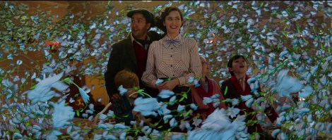 A New Trailer & Poster For Disney's 'Mary Poppins Returns' Fly In 1