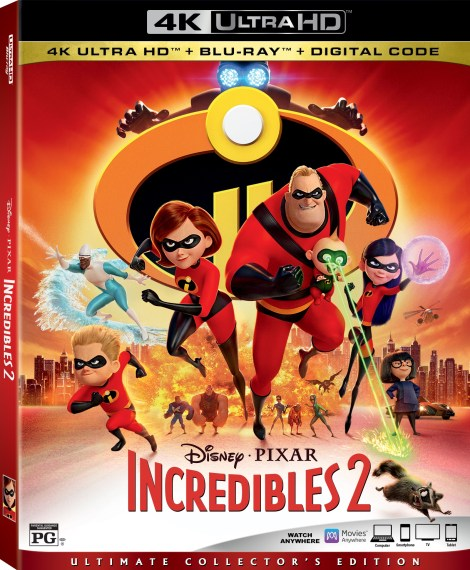 Disney•Pixar's 'Incredibles 2'; Arrives On Digital October 23 & On 4K Ultra HD, Blu-ray & DVD November 6, 2018 From Disney•Pixar 3